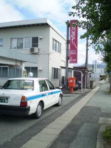 山交ハイヤー前タクシー乗り場