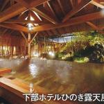 下部ホテル ひのき露天風呂